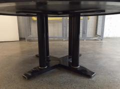 Large Italian Zebra Wood Center Table - 2046105