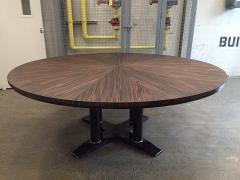 Large Italian Zebra Wood Center Table - 2046106