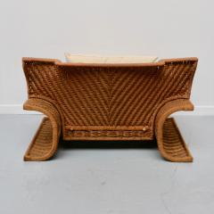 Large Italian armchair 70s - 1456964