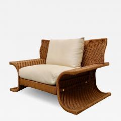 Large Italian armchair 70s - 1457393