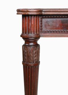 Large Italian library table in the 18th century style ex collection Pierre Berg  - 1101150
