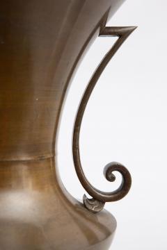 Large Japanese Bronze Vase - 1303884