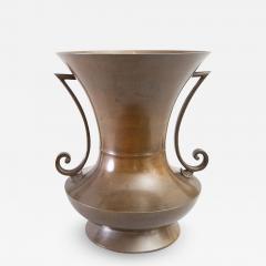 Large Japanese Bronze Vase - 1308975