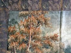 Large Japanese Embroidery Tapestry Meiji Period - 1542176