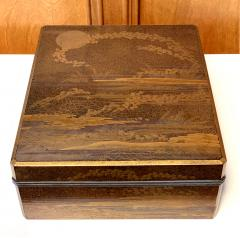 Large Japanese Lacquer Box Early Edo Period - 1665649