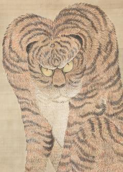 Large Japanese Scroll of a Tiger - 1353960