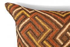 Large Kuba Cloth Cushion - 1390812
