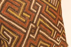 Large Kuba Cloth Cushion - 1390814