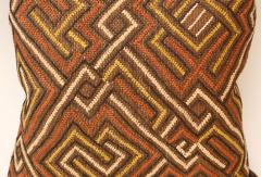 Large Kuba Cloth Cushion - 1390817