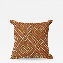 Large Kuba Cloth Cushion - 1503158