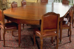 Large Late 18th Century French Oval Extending Walnut Dining Table - 1445665