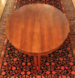 Large Late 18th Century French Oval Extending Walnut Dining Table - 1445667
