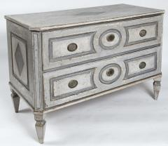 Large Louis XVI Painted Chest Of Drawers - 1569633