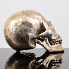 Large Metal Skull Sculpture Manner of Damien Hirst - 1569898
