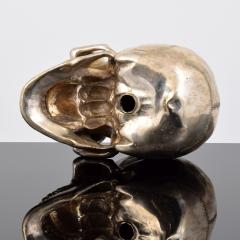 Large Metal Skull Sculpture Manner of Damien Hirst - 1569899