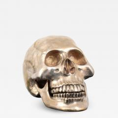 Large Metal Skull Sculpture Manner of Damien Hirst - 1572710