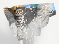 Large Michael Lucero Hanging Figural Sculpture 90  - 1660408