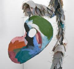 Large Michael Lucero Hanging Figural Sculpture 90  - 1660415