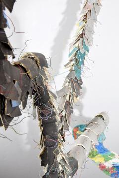 Large Michael Lucero Hanging Figural Sculpture 90  - 1660416