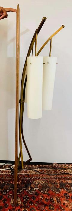 Large Mid Century Modern Milk Glass Wall Light Fixture - 1730017
