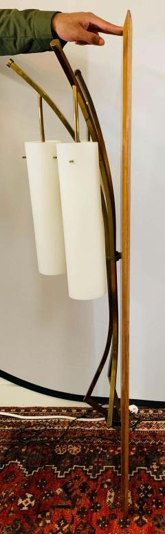 Large Mid Century Modern Milk Glass Wall Light Fixture - 1730022