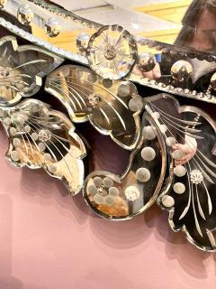 Large Mid Century Venetian Mirror - 1793429