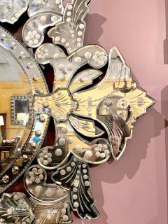 Large Mid Century Venetian Mirror - 1793431