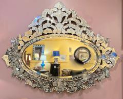 Large Mid Century Venetian Mirror - 1793432