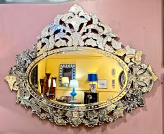 Large Mid Century Venetian Mirror - 1793433
