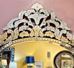 Large Mid Century Venetian Mirror - 1793435