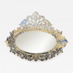 Large Mid Century Venetian Mirror - 1797776