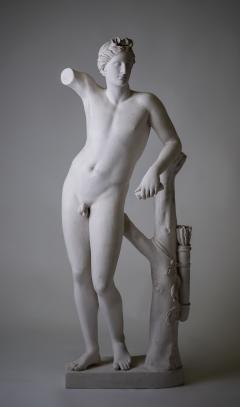 Large Neoclassic Plaster Statue of Dionysos or Bacchus France circa 1930 - 1307112