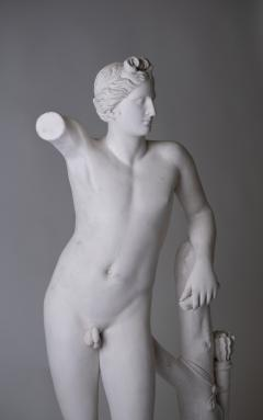 Large Neoclassic Plaster Statue of Dionysos or Bacchus France circa 1930 - 1307126