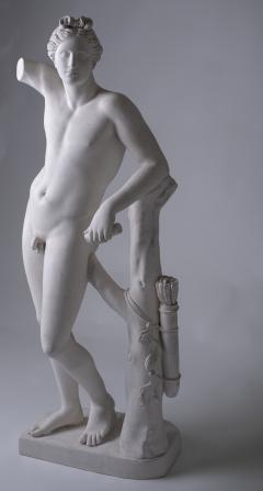 Large Neoclassic Plaster Statue of Dionysos or Bacchus France circa 1930 - 1307127