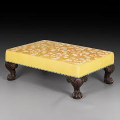 Large Ottoman or Stool in 18th Century Georgian Style - 1214932