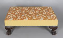 Large Ottoman or Stool in 18th Century Georgian Style - 1214933