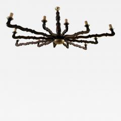 Large Oval Rustic Country Style Ceiling Light - 2064799