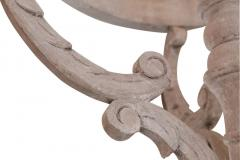 Large Painted Wooden Chandelier - 1466825