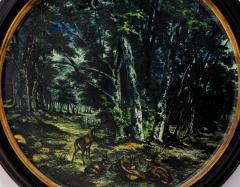 Large Pair of 19th Century Italian Glazed Majolica Framed Plaques - 1955697