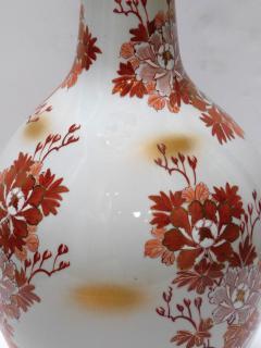 Large Pair of Japanese Kutani Porcelain Lamps - 1941502