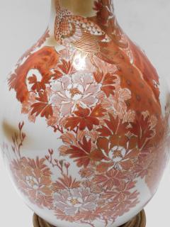 Large Pair of Japanese Kutani Porcelain Lamps - 1941503