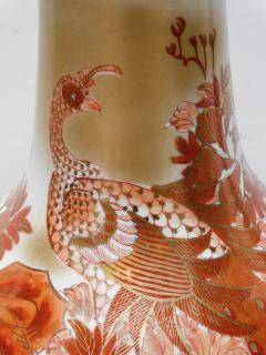 Large Pair of Japanese Kutani Porcelain Lamps - 1941504