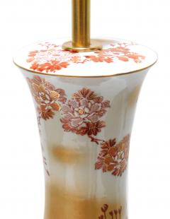 Large Pair of Japanese Kutani Porcelain Lamps - 1941506