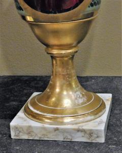 Large Pair of Old Paris Empire Porcelain Vases - 753787