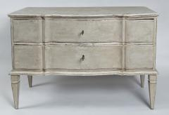 Large Pair of Scandinavian Baroque Style Painted Chests - 1474715