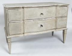 Large Pair of Scandinavian Baroque Style Painted Chests - 1474718
