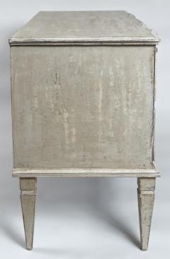 Large Pair of Scandinavian Baroque Style Painted Chests - 1474723