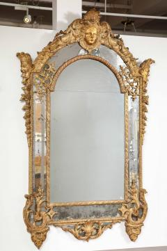 Large R gence Carved Giltwood Wall Mirror - 1945303