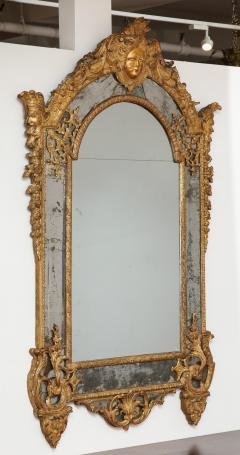 Large R gence Carved Giltwood Wall Mirror - 1945305