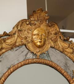 Large R gence Carved Giltwood Wall Mirror - 1945308